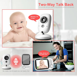 3.2 Inch Color LCD Wireless Video Baby Monitor Night Vision 5m Nanny Monitor Bebek Lullabies Surveillance Security Camera VB603-home-betahavit-China-betahavit