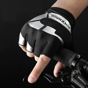 Anti-slip Cycling Gloves Shock Absorption Breathable Bicycle Gloves Comfortable Fashion Printing Outdoor Sports Gloves-outdoor-betahavit-betahavit