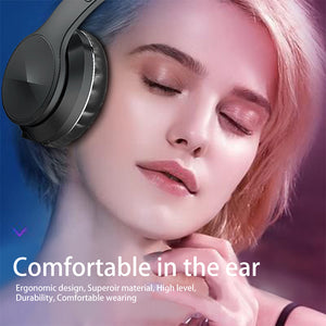 gaming Bluetooth Wireless Headphone Foldable Stereo High Quality Sound Bluetooth Sport Headset Support TF Card FM Radio AUX Mode-electronic-betahavit-betahavit