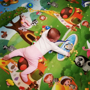 0.5cm Double-Side Baby Crawling Play Mat Dinosaur Puzzle Game Gym Soft Floor Eva Foam Children Carpet for Babies KidsToys-home textile-betahavit-betahavit