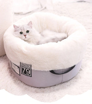 Cat Bed Bench for Cats Soft Material House for Cat Nest Winter Warm Kennel For Puppy-home-betahavit-betahavit