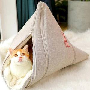 Cat Bed Soft Warm House Puppy Cushion Winter Pet Bed High Quality Products-home-betahavit-betahavit