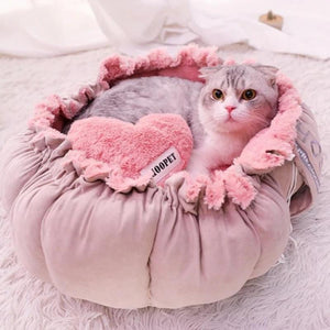 Cat Cute Pink Bed Warm Puppy Dog Bed Mat Autumn/Winter Lovely House for Cats-home-betahavit-betahavit