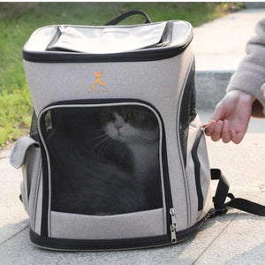 Pet Dog Cat Carrier Bag Pet Dog Outdoor Double Shoulder Portable Travel Backpack for Puppy-home-betahavit-betahavit