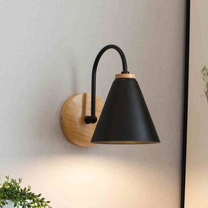 wooden wall lights bedside wall lamp bedroom wall light sconce for kitchen restaurant modern wall lamp Nordic macaroon sconces-home-betahavit-betahavit