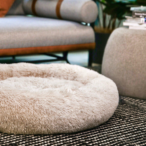 Dog Calming Bed™ Dog Calming Bed Taupe XL 80cm / 32