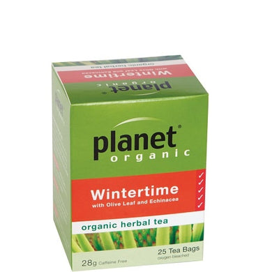 Planet Organic Wintertime Tea 25 bag