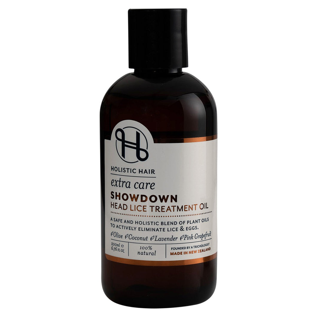 Holistic Hair Showdown Head Lice Treatment Oil 200ml