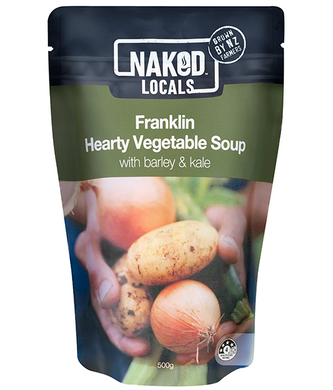 Naked Locals- Franklin Hearty Vegetable Soup 500g