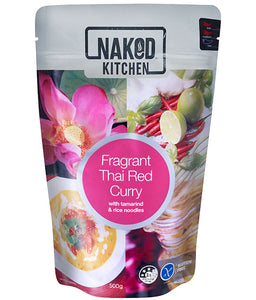 Naked Kitchen Meals- Fragrant Thai Red Curry 500g