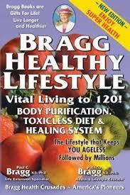 Bragg Healthy Lifestyle Book by Patricia Bragg and Paul C. Bragg