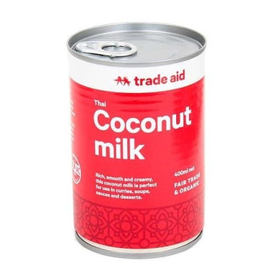 Trade Aid Coconut Milk 400ml
