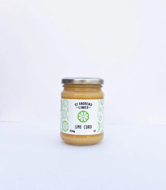 St Andrews Limes Lime Curd 250g