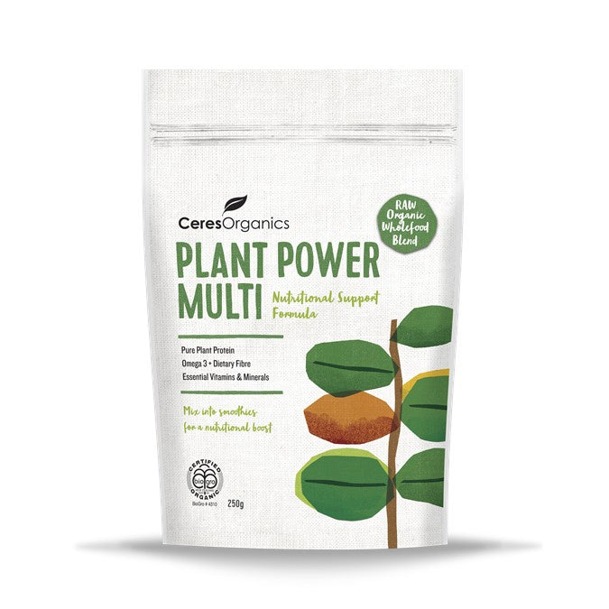 Ceres Organic Plant Power Multi, Nutritional Support Formula 250g