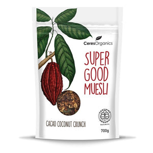 Ceres Organics Super Good Muesli, Cacao Coconut Crunch525g