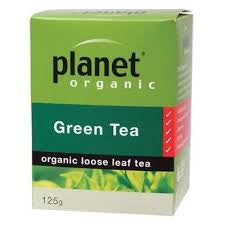 Planet Organic Green Tea (Loose Leaf)- 125g