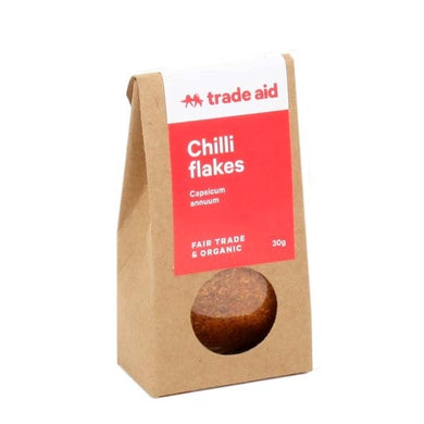 Trade Aid Chilli Flakes 30g