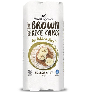 Ceres Organics Original Brown Rice Cakes 110g