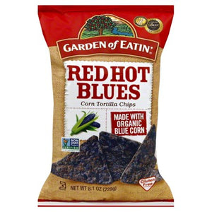 Garden of Eatin Corn Chips- Red Hot Blues 229g