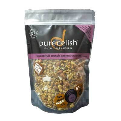 Pure Delish  Passionfruit Crunch Grain-ola 400g