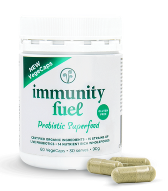 Immunity Fuel Gluten Free Probiotic Superfood - 60 VegeCaps
