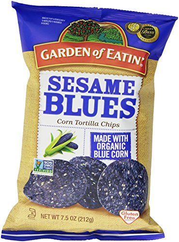 Garden of Eatin Corn Chips- Sesame Blues 212g