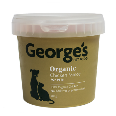 George's Organic Chicken Mince - Pet Food