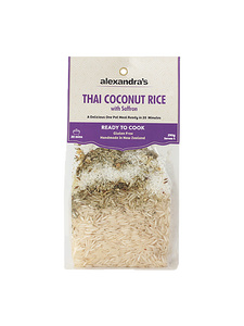 Alexandra's Ready to Cook Meal- Thai Coconut Rice