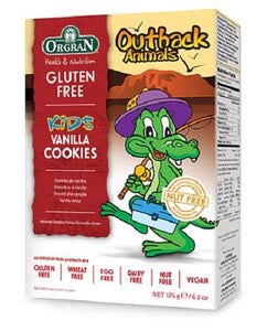 Orgran Outback Animals Vanilla Cookies 175g