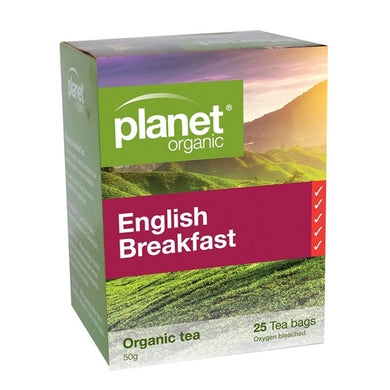 Planet Organic English Breakfast Tea