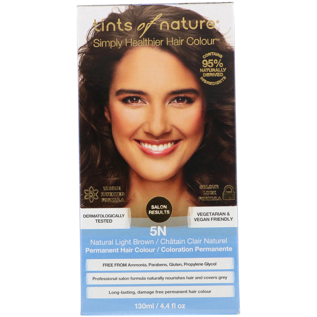 Tints of Nature 5N Natural Light Brown Permenant Hair Colour