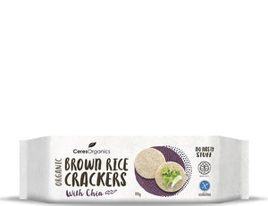 Ceres Brown Rice Crackers with Chia 115g