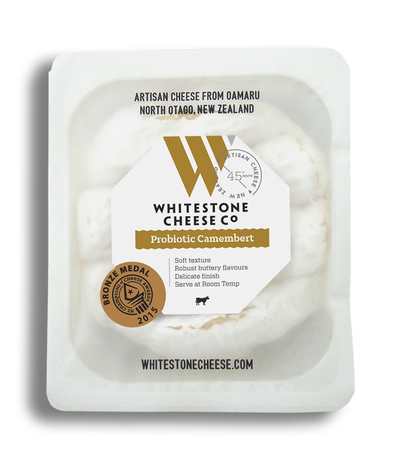 Whitestone Cheese Probiotic Camembert 125g