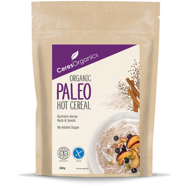 Ceres Organic Hot Cereal- Paleo, Grain Free 300g