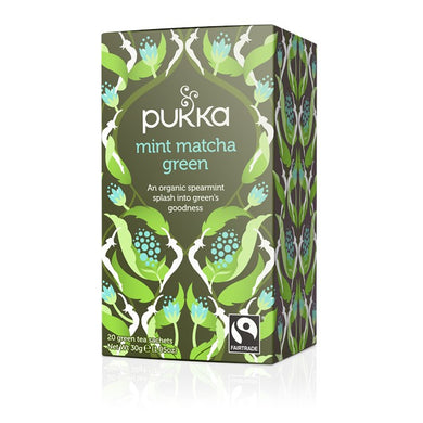 Pukka Mint Matcha Green Tea- 20 bags