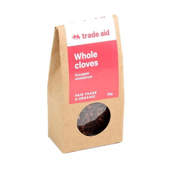 Trade Aid Whole Cloves 30g