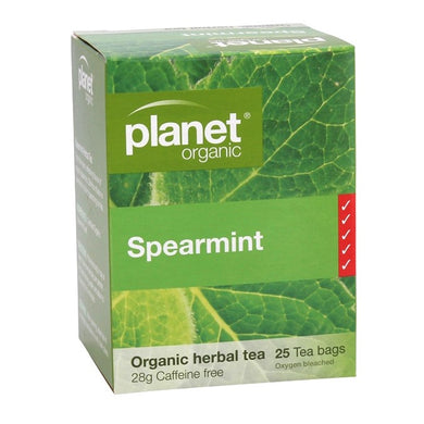 Planet Organic Spearmint Tea- 25 bag