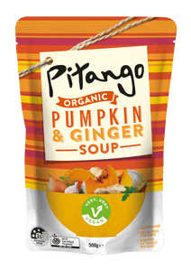 Pitango Organic Pumpkin & Ginger Soup 500ml