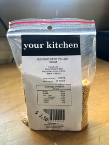 Your Kitchen Mustard Seed Yellow 100g