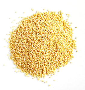 Millet Hulled-Heat Treated Organic, Pre Packed