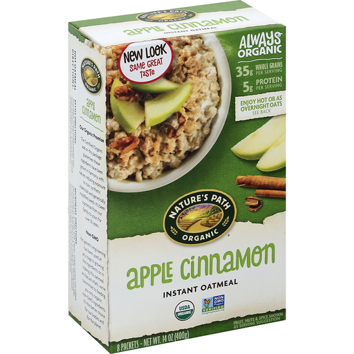 Natures Path Hot Cereal Apple Cinnamon 400g