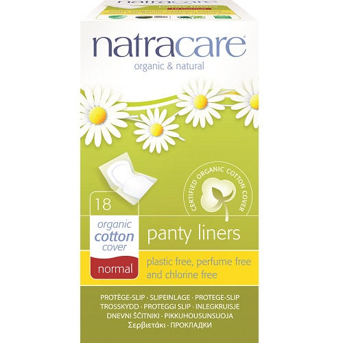 Natracare Cotton Panty Liners Normal 18s