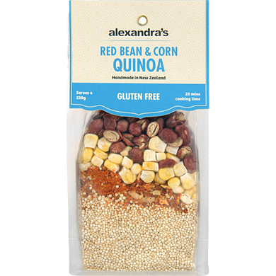 Alexandra's Red Bean & Corn Quinoa- Ready to Cook Meals 220g