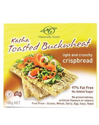 Naturally Good Kasha Toasted Buckwheat Crispbread 100g