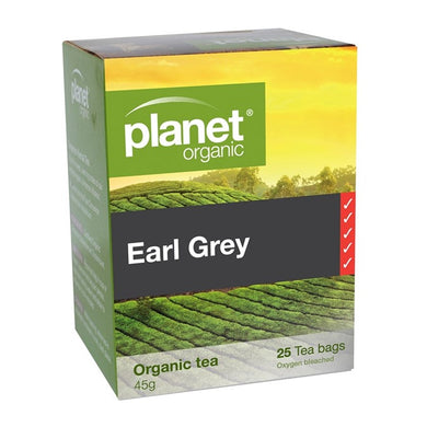 Planet Organic Earl Grey Tea- 25 Bag