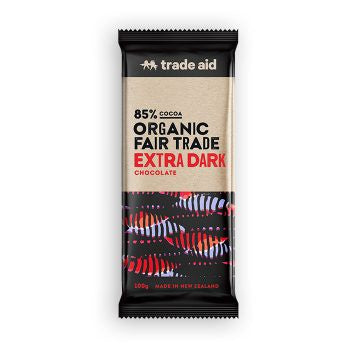 Trade Aid Extra Dark 85% Chocolate 100g