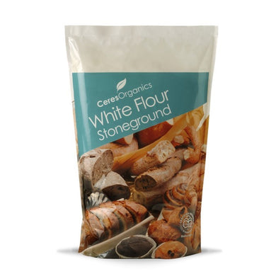 Ceres Organics White Flour Stoneground 1kg