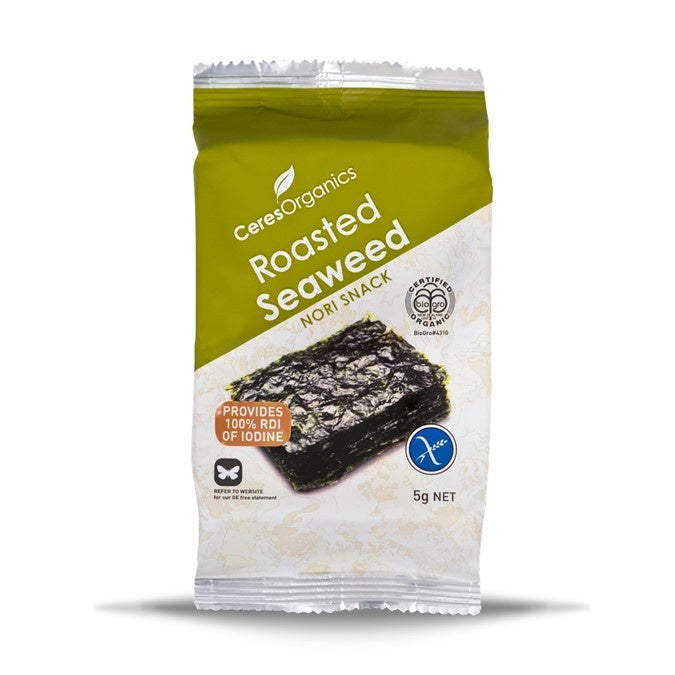 Ceres Roasted Seaweed 5g