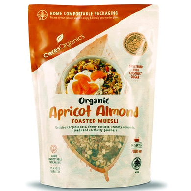 Ceres Apricot Almond Toasted Muesli 700g