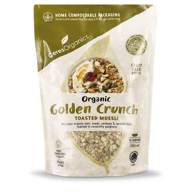 Ceres Golden Crunch Toasted Muesli 700g